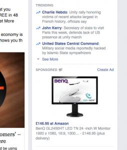 Facebook Amazon Online Marketing Advertising