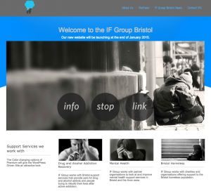 IF Group Website by Bristol Marketing