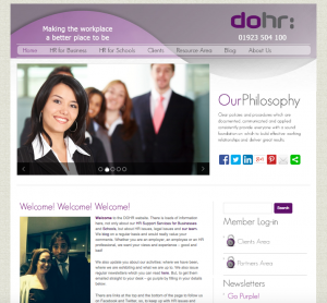 Website Design for DO:HR