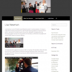 Website Design and Marketing Strategy for Lisa Newman