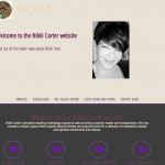 Website Design for Nikki Carter by Bristol Marketing
